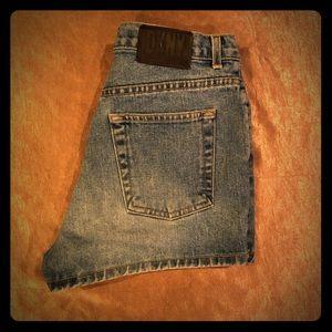 Vintage DKNY Jean Shorts - EUC Size 8